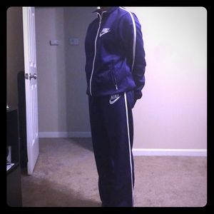 Nike purple sweatsuit
